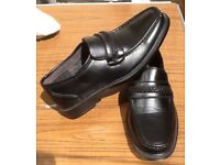 Hobos Mens Moccasin Shoe in Black Size 8 Brand New Never Worn.