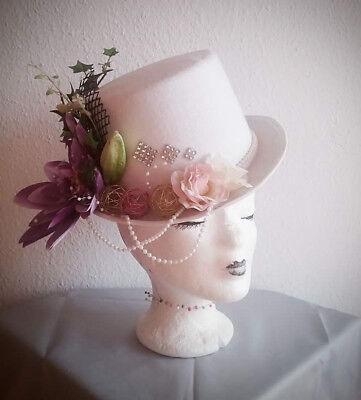 Zylinder für verschiedene Anlässe zb Cosplay, Karneval, Hochzeiten, Fasching (Verschiedene Cosplay Kostüme)