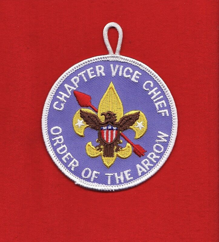 Chapter VICE Chief OA Lodge Order Arrow Patch Boy Scout BSA