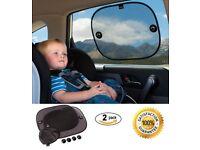 Baby car window sun shades (pair)