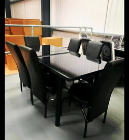 Extendable turkish dining tables with 5 chairs