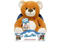 CLOUD PETS interactive soft toy BEAR. NEW