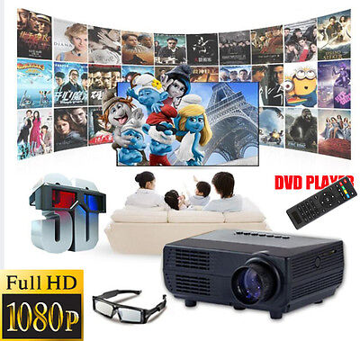 3000lumens 1080p Led Projector Full Hd 3d Home Theater Ci...