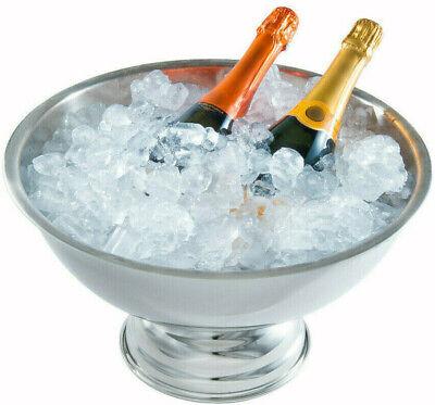 Edelstahl Sekt-, Champagner-, Wein- Kühler, Champagnerbowl Ø 40 cm