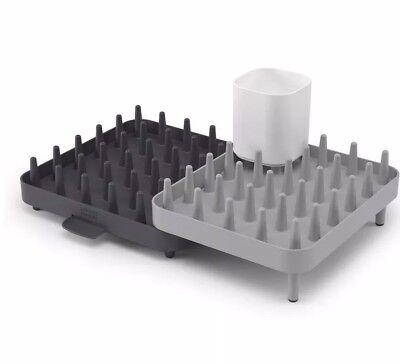 Joseph Joseph Connect Adjustable 3-Piece Dishrack - Grey