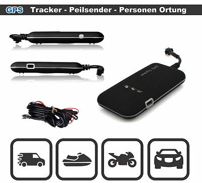 Neu Mini GSM GPS Tracker GT02A GSM GPRS SMS Sender Überwachung Auto Ortung Navi
