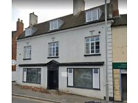 Three Rooms to let at rear of a tanning shop Cannock Town centre- Leaseholder will have own entrance