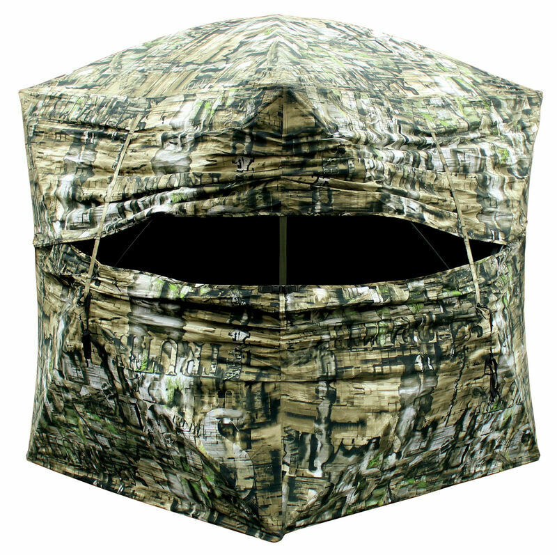 Primos Double Bull Deluxe Go Ground Blind. Includes Blind Carry Bag. 65156