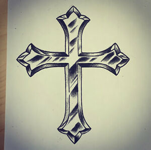 Silver Cross Tattoo 4 U at 3140 Dundas St. West