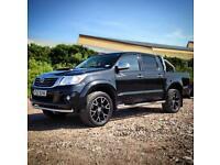 Fierce 2014 Toyota Hilux 3.0 D4D Invincible Black