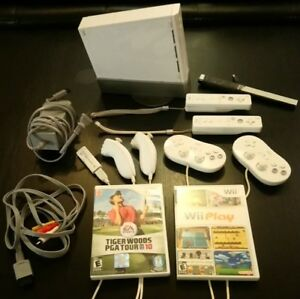 Wii - with accessories - $100