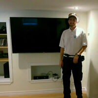 Flat Screen Mounting & Custom Home Theatre Installation