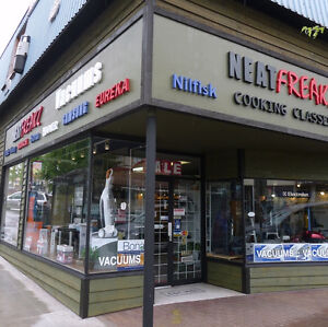 Prime retail location corner building heart of downtown Abbotsfo