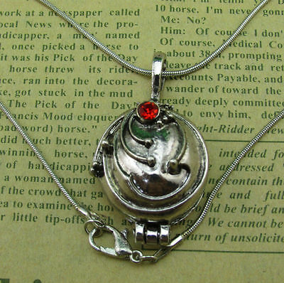 The Vampire Diaries Elenas Vervain Pendant Antique Silver Locket Necklace Gift