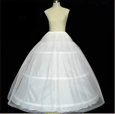 3 hoop 2 Layer petticoat Crinoline Underskirt bridal wedding dress (Petticoat Dress)