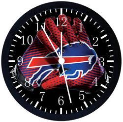 Buffalo Bills Black Frame Wall Clock F118