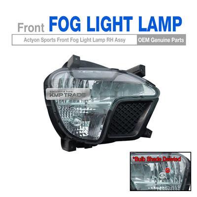 For Ssangyong Korando Sports//Musso 2013-2018 Chrome Front /& Rear Fog Light Trim