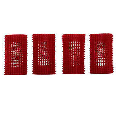 Hair Volume Up Rollers JET SET EZ GRIP Roller Value Kit Curlers Red 39mm