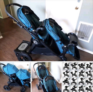 2016 Baby Jogger City Select + accessoires