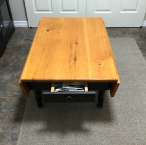 Flip-sides Pine Coffee Table