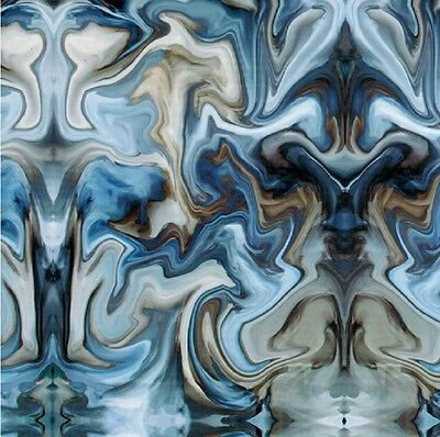 Hydrographic Film Water Transfer Printing Film Hydro Dip Blue Oil Slick 1sq