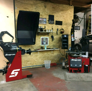 !!!winter tires installations and balancing+used tire for sale