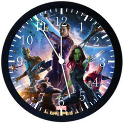Guardians of the Galaxy Black Frame Wall Clock Nice For Decor or Gifts E71