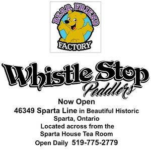 Bear Friend Factory & Whistle Stop Peddlers Christmas Open House London Ontario image 6