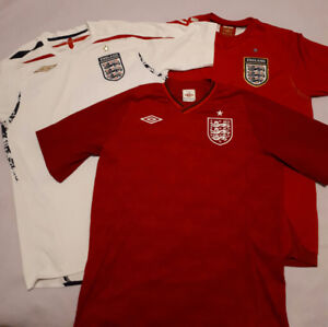 England Soccer/Football Shirts - Size Medium and Small