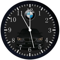 BMW M5 Black Frame Wall Clock Nice For Decor or Gifts Y48