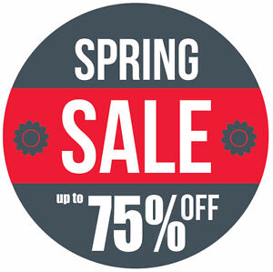 MOTHER'S DAY SALE! UP TO 75% OFF ENTIRE STORE!