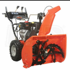 Snowblower Season is here