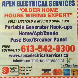 Aluminum Wiring Expert fully licensed and insured since 1984 Kingston Kingston Area image 5