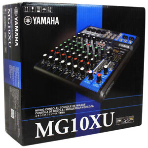 Yamaha 10 Channel MG Series Mixer w/Effects