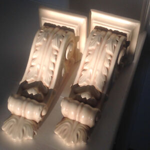 Two Plaster Corbels