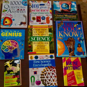 Science Informative textbooks and Books