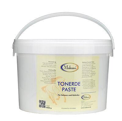 Makana Tonerde Paste 4000 g / 4 kg für Pferde, erfrischend und kühlend