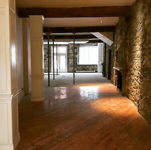 Open Concept Old Port Retail Space For Rent! Must See!!