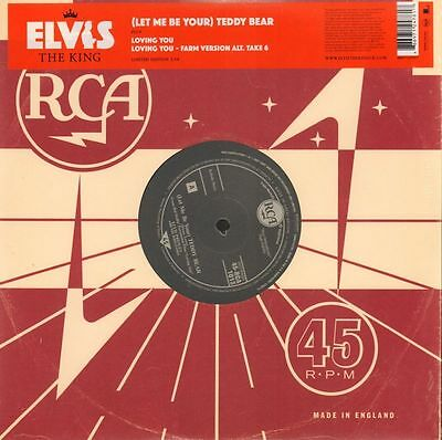 "Elvis Presley(Ltd. Ed 10"" Vinyl)(Let Me Be Your) Teddy Bear 5/18-RCA-RC-M/M"
