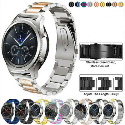 Stainless Steel Band Sport Strap For Samsung Galaxy Watch 42/46mm Active Gear S3 Sport Watch Steel Band