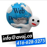 Web design and web application development services