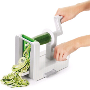 OXO Good Grips 3-Blade Spiralizer with Strong Hold Suction,White
