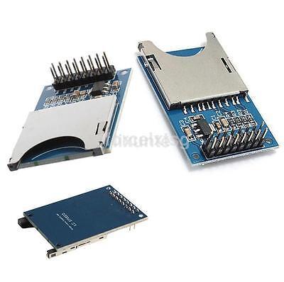 Sd Storage Board Sdhc Card Reader Memory Shield Module For Arduino 3.3v5v Us