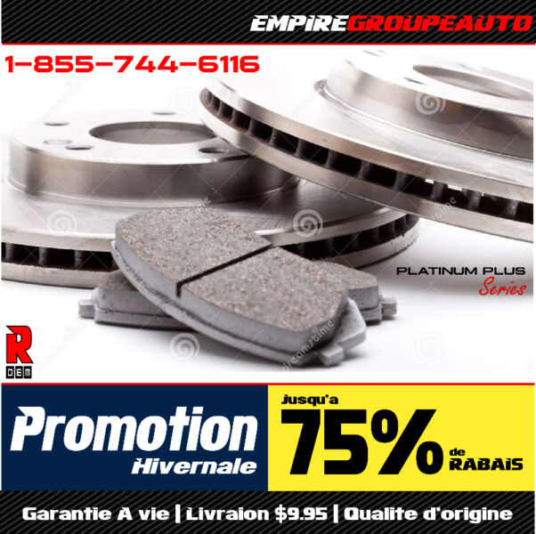 Acura MDX • Premium Brake Pads And Rotors Freins • Disques
