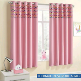Unicorn Sparkle Blackout Curtains