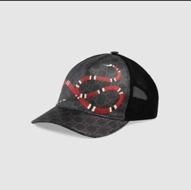 Gucci Baseball caps snake printed