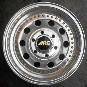 "1 - 15"" X 7"" ARE 440 ULTRALITE  WHEEL GM  4X4 6 BOLT $40."