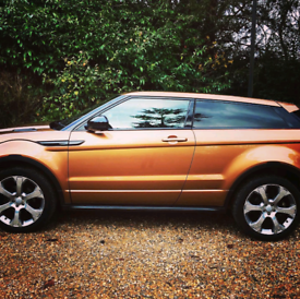 Range Rover Evoque, Panoramic Sunroof, Petrol, Automatic, Buckets Seat