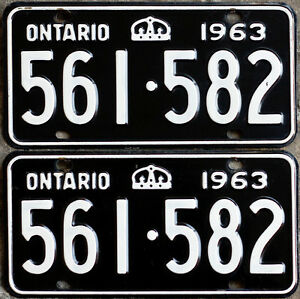 YOM Licence Plates For Your Old Auto - Ministry Guaranteed! Kitchener / Waterloo Kitchener Area image 8