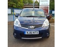 Nissan Note 1.5dCi Diesel 2011 N-TECHatchnack In Blue